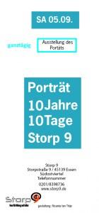 unser Flyer für das Porträt 10 Jahre 10 Tage Storp9