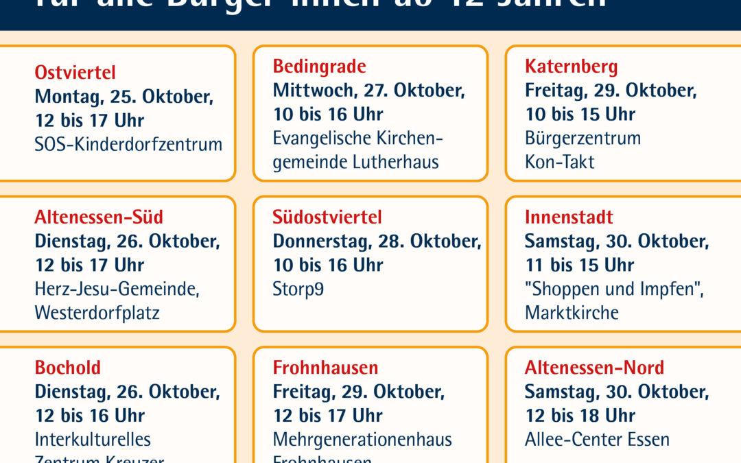 Impfaktion im Storp9 am 28.10.2021 von 10 bis 16 Uhr.